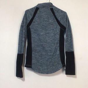SO Tops - So quarter length zipper sweatshirt
